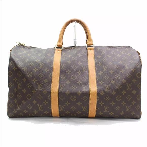 6905f7bc1b Louis Vuitton Handbags - 🌸authentic Louis Vuitton keepall 50 travel bag
